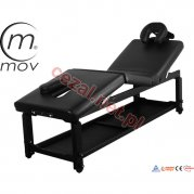 Stół rehabilitacyjny SPA Manual Black (ID2651)